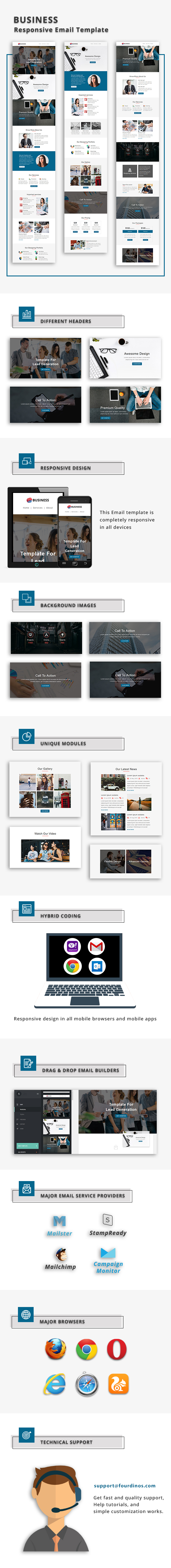 Business- Responsive Email Template