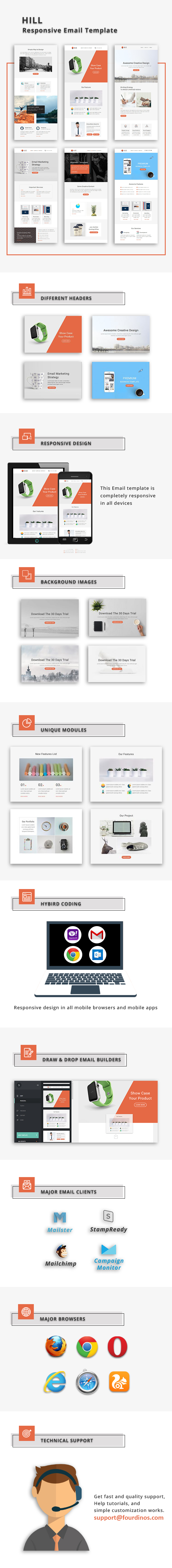 Hill - Responsive Email Template