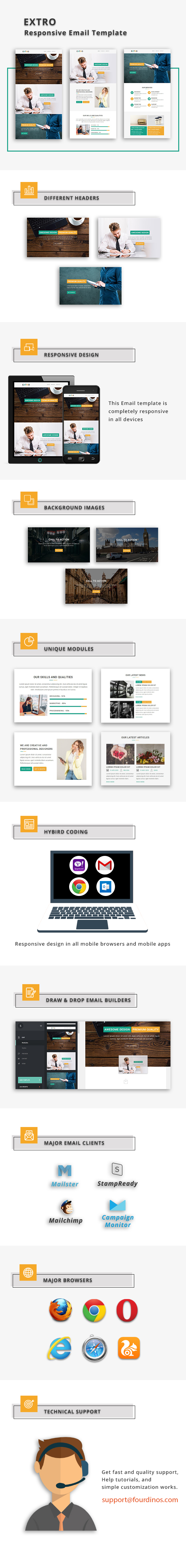 Black - Responsive Email Template